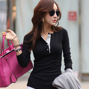 Casual Slim Tops Blouse Sweater