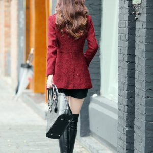 European Winter Woolen Casual Coat