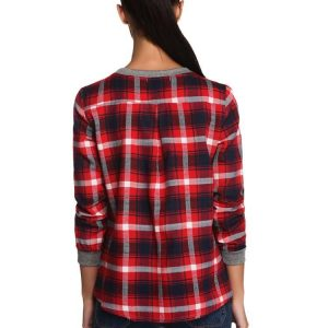 Plaid Sweatshirt Autumn Pullover
