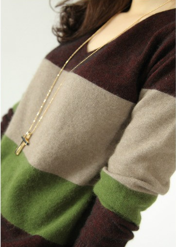 European Cashmere Fashion Pullover
