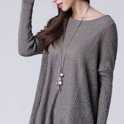 Tunic Women's Long Sleeve Jumper Sweater