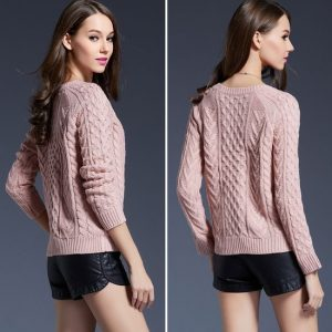 Retro Pullover Sweater