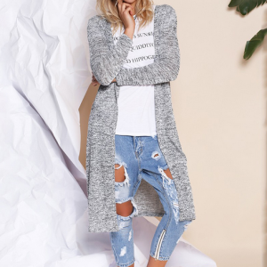 Winter Long Knitted Cardigan