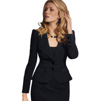 Women's Winter Work Blazer