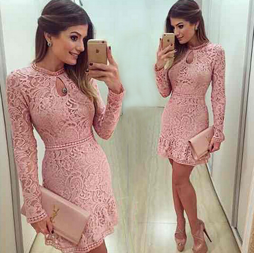 Fashion Casual Lace Dress