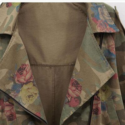 Camouflage Embroidery Jacket