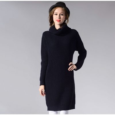 Retro Pullover Thick Knit Sweater