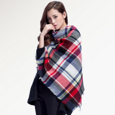 Plaid Winter Scarves