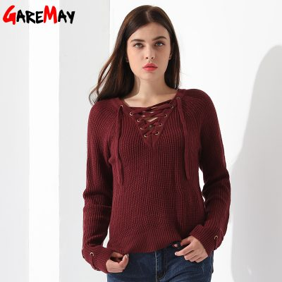 Women's Pullover Long Sleeve KnittedSweater