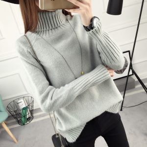 Winter Turtleneck Sweater, Women's 2017 New Design Thick Pullover