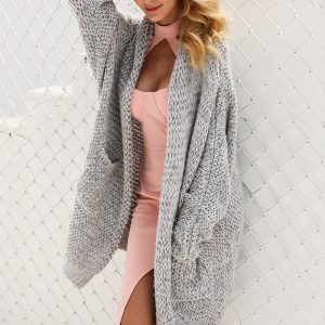 Casual Long Cardigan, Loose Winter Sweater