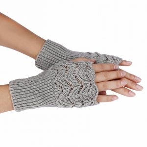 New Paragraph Knitting Finger-less Gloves, Women's Fashion Lady Casual, Autumn, Winter, Gloves