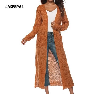 New Women's Thin Long Knitwear, Kimono Warm Sweater, Cardigan, Solid Color Knitted