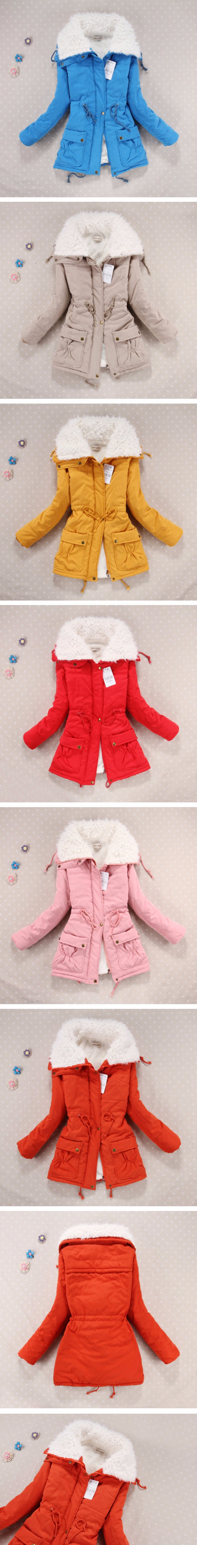 Winter Coat, Women's Medium-Long. Hooded Snow Parka 22
