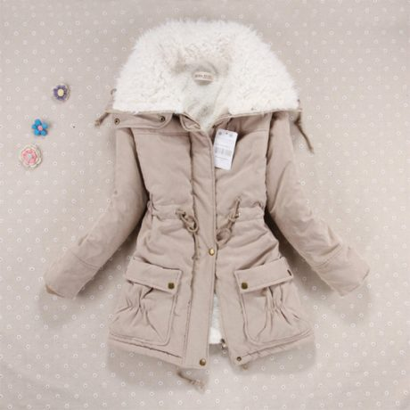 Winter Coat, Women's Medium-Long. Hooded Snow Parka 3