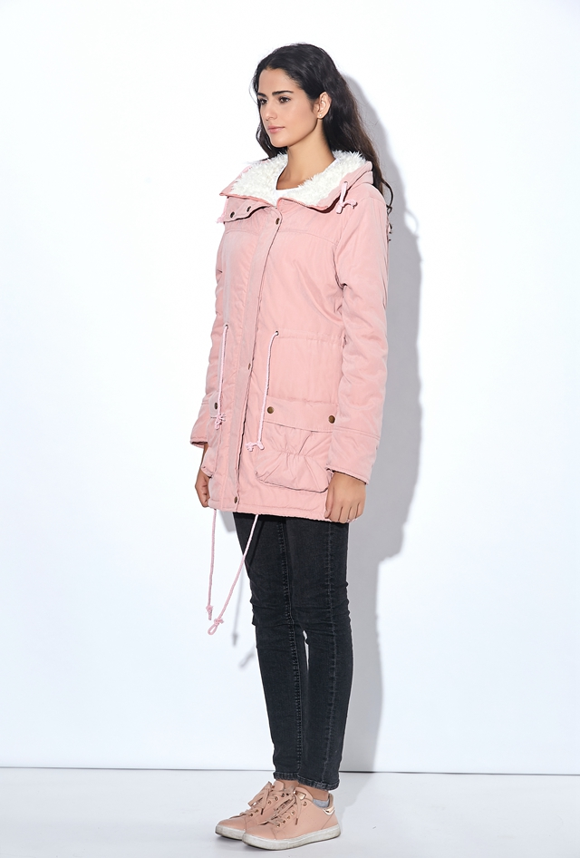 Winter Coat, Women's Medium-Long. Hooded Snow Parka 16