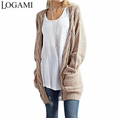 Long Cardigan Women's Long Sleeve Knitted Sweater
