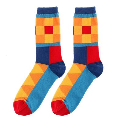Fashion Women's Playful, Casual, Sweat Absorption, Soft Breathable Cotton Socks