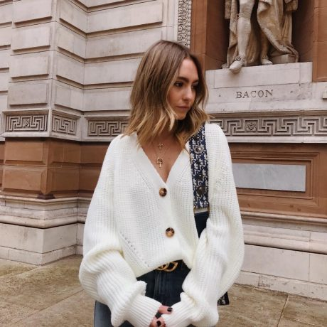 2019 NEW ARRIVAL Autumn Winter Sexy Solid Long Sleeve Button V Neck Knitted Cardigans Sweater Casual HOT SALE 1