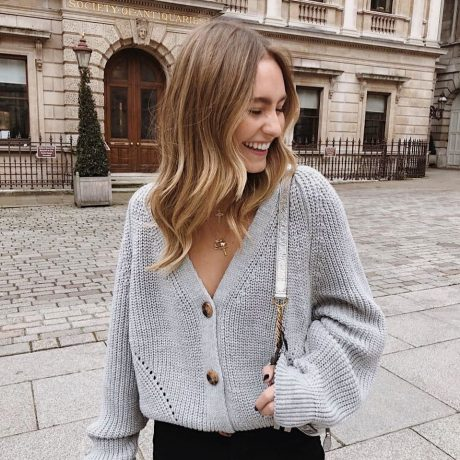 2019 NEW ARRIVAL Autumn Winter Sexy Solid Long Sleeve Button V Neck Knitted Cardigans Sweater Casual HOT SALE 2